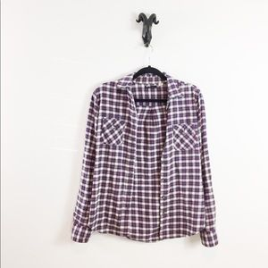 BDG Plaid Flannel Size Small